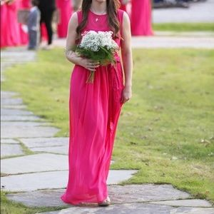 Bridesmaids Dress - pink (equivalent to size 2/4)